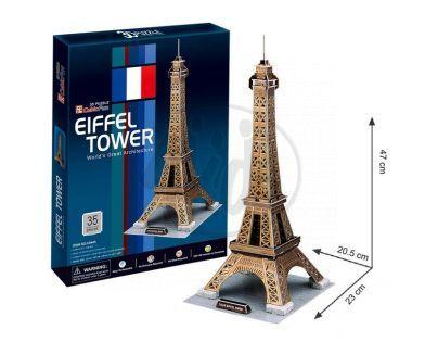 CubicFun 17C044- 3D Puzzle Eiffelova věž, 35 dílků