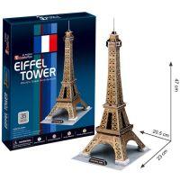 CubicFun 3D Puzzle Eiffelova věž 35 dílků