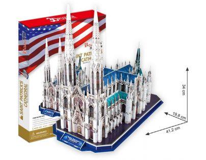 CubicFun 17C103 - Puzzle 3D Katedrála Sv.Patrika - 117 dílků