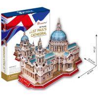 CubicFun  17C117 - Puzzle 3D Katedrála Sv.Pavla - 117 dílků