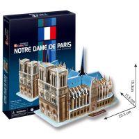 CubicFun 17C717 - 3D Puzzle Katedrála Notre Dame, 40 dílků