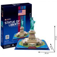 CubicFun 3D Puzzle Socha Svobody 39 dílků