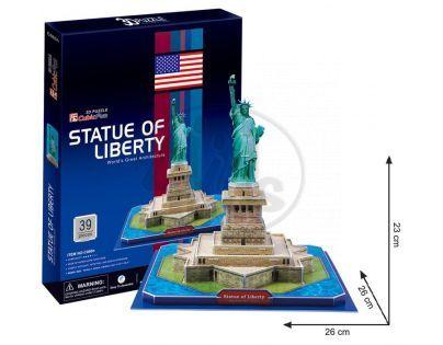 CubicFun 17C080 - 3D Puzzle Socha Svobody, 39 dílků