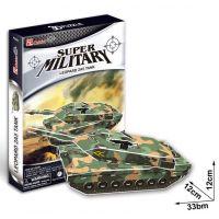 CubicFun 17C630 - Puzzle 3D Tank 2A5 - 51 dílků