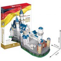 CubicFun 3D Puzzle Zámek Neuschwanstein 98 dílků