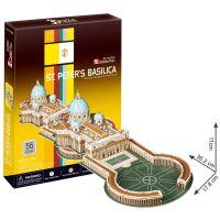 CubicFun  17C718 - Puzzle 3D Bazilika sv. Petra – 56 dílků
