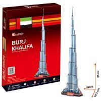 CubicFun 17C151 - 3D Burj Khalifa, 91 dílků