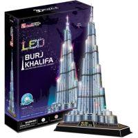 Cubic Fun 3D puzzle Burj Khalifa LED 136 dílků