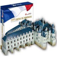 CubicFun Puzzle 3D Chateau of Chenonceau 116 dílků