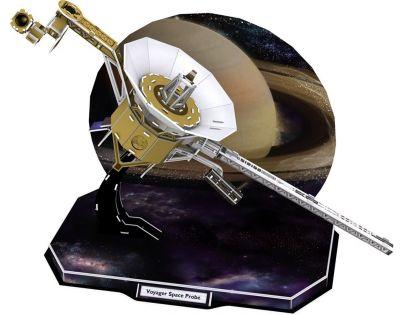 CubicFun Puzzle 3D Družice Voyager 71 dílků