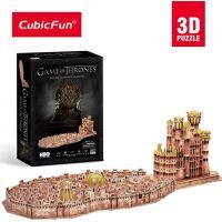 CubicFun Puzzle 3D Game Of Thrones 262 dílků