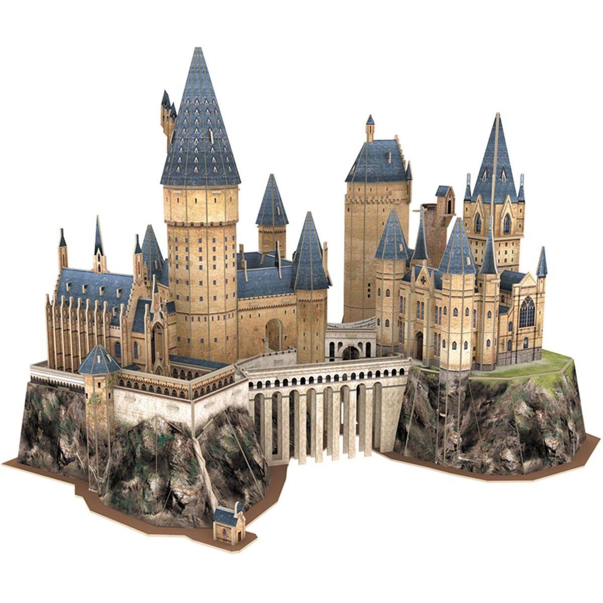 CubicFun Puzzle 3D Harry Potter Rokfort ™ Hrad 197 dielikov