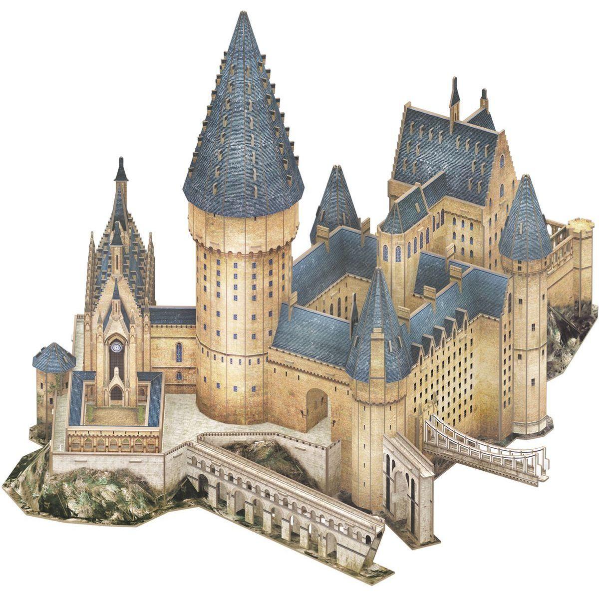 CubicFun Puzzle 3D Harry Potter Rokfort ™ Veľká sieň 185 dielikov