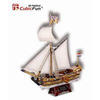 CubicFun 3D Puzzle Jachta Mary 83 dílků
