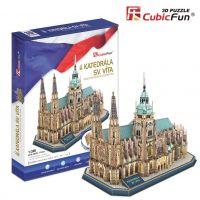 Cubic Fun 3D puzzle Katedrála svätého Víta 193 dielikov 2