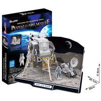 CubicFun 17C651 - Puzzle 3D Lunární modul Apollo – 104 dílků