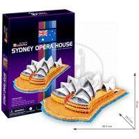 CubicFun  17C067 - Puzzle 3D Opera  v Sydney – 58 dílků