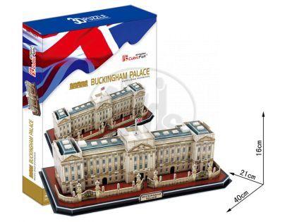 CubicFun  17C162 - Puzzle 3D Palác  Buckingham  –  72 dílků