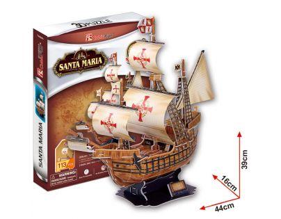 CubicFun 3D Puzzle Santa Maria 113 dílků