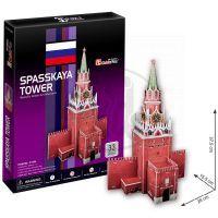 CubicFun 17C118 - Puzzle 3D Spasskaya Tower – 33 dílků