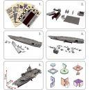 CubicFun Puzzle 3D USS Enterprise 121 dílků 3