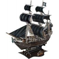 CubicFun Puzzle 3D Válečná loď Queen Anne 155 dílků 6