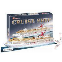 CubicFun 17C4006 - 3D Výletní loď, 66 dílků