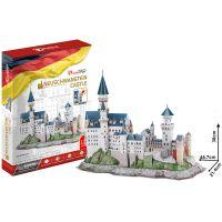 CubicFun 3D Puzzle Zámek Neuschwanstein 128 dílků