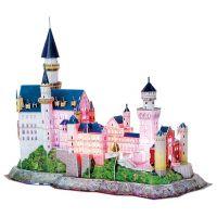 CubicFun Puzzle 3D Zámek Neuschwanstein LED 128 dílků 4