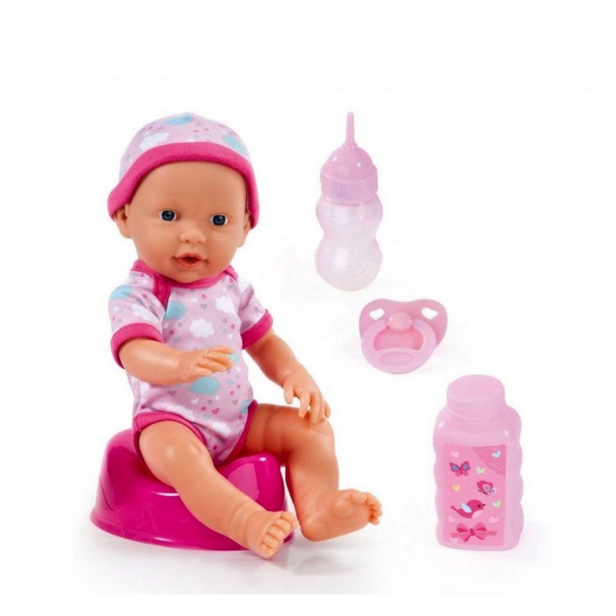 Čůrací bábika Adélka 30cm