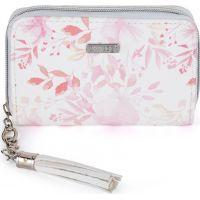 Oxy Lady Dámská peněženka malá Pink flowers