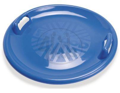 Zábavný talíř na sníh s držadly Průměr 63 cm - Modrá