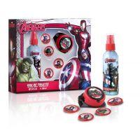 Dárková sada Avengers Body spray 100 ml s raketometem a disky