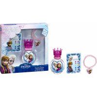 Dárková sada Disney Frozen Toaletní voda 30 ml s náramkem a nalepovací naušnicí