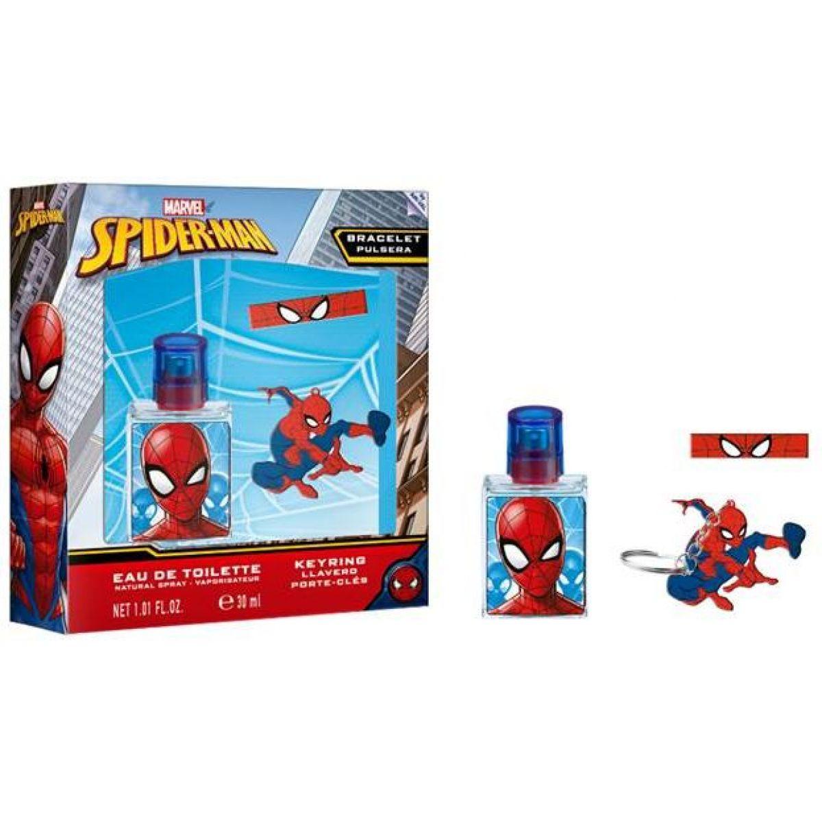 Dárková sada Spiderman s toaletní vodou a doplňky