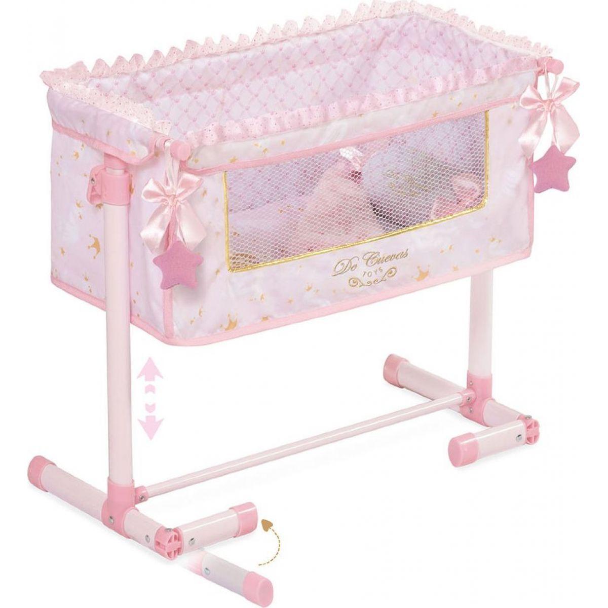 DeCueavas Novorozenecká postýlka pro panenky s doplňky Maria