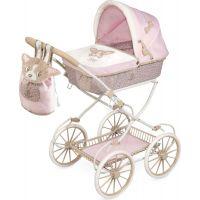 DeCuevas Skladací kočík pre bábiky s batôžkom Didi 2021 81 cm