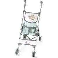 DeCuevas Skladací kočík pre bábiky golfové palice Luky 2021 56 cm