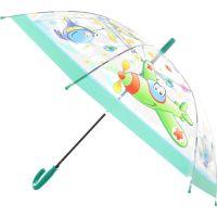 Deštník dopravní prostředky vystřelovací zelený