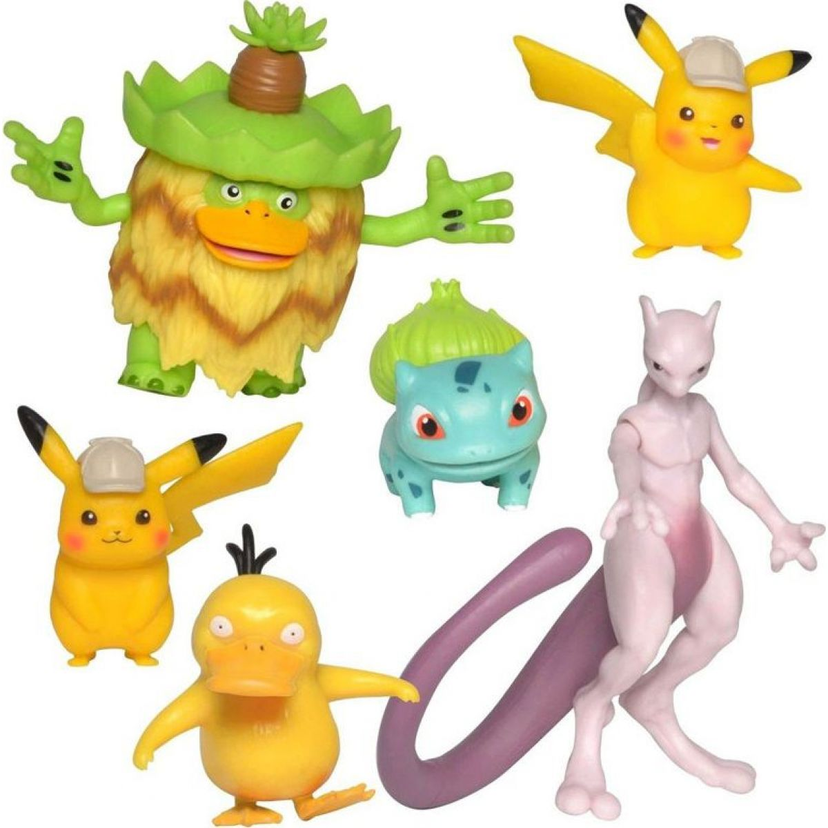 Mac Toys Detective Pikachu Battle Figure Multipack