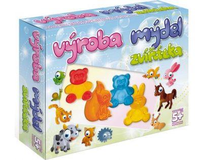 DetiArt 4110008 - Výroba mýdel - Zvířata