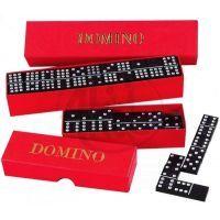 Detoa 11686 - Domino společenská hra 55 kamenů dřevo