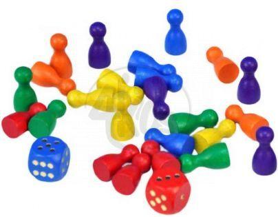 Detoa Figurky a hrací kostky