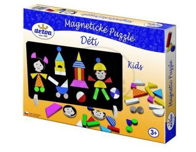Detoa 12906 - Magnetické puzzle děti