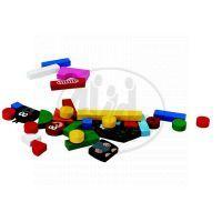 Detoa 13330 - Magnetické puzzle Krtek 3
