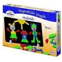 Detoa 12907 - Magnetické puzzle Medvědi