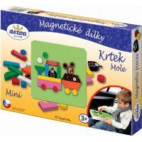 Magnetické dílky Krtek mini (Detoa 13886)
