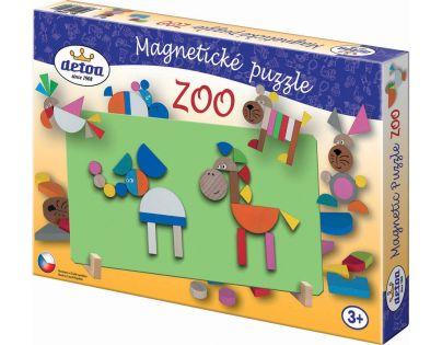 Detoa Magnetické puzzle ZOO