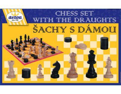 Detoa 12552 - Hra Šachy s dámou