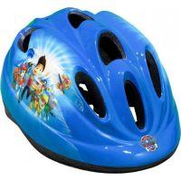 Dětská cyklistická helma Toimsu Tlapková patrola klučičí